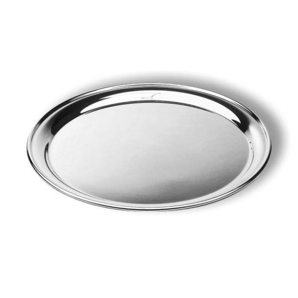 Round salver-plain