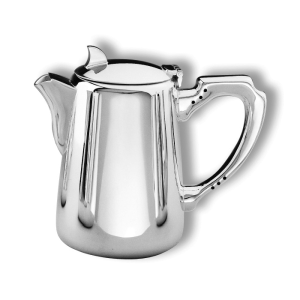 Coffee pot short spout