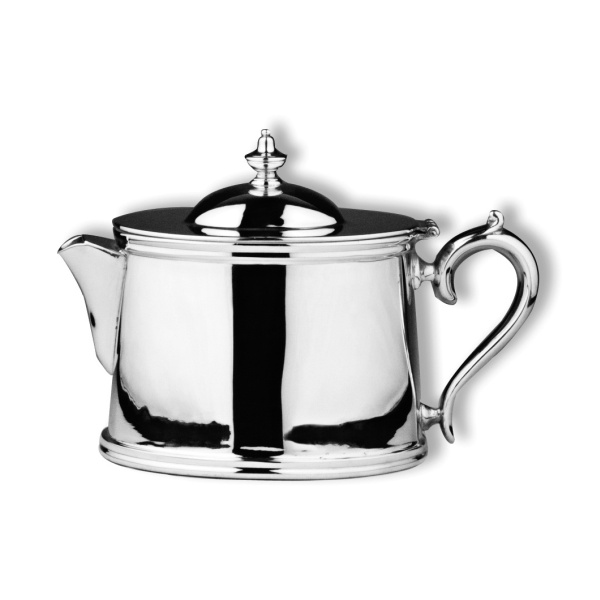 Oval teapot short spout