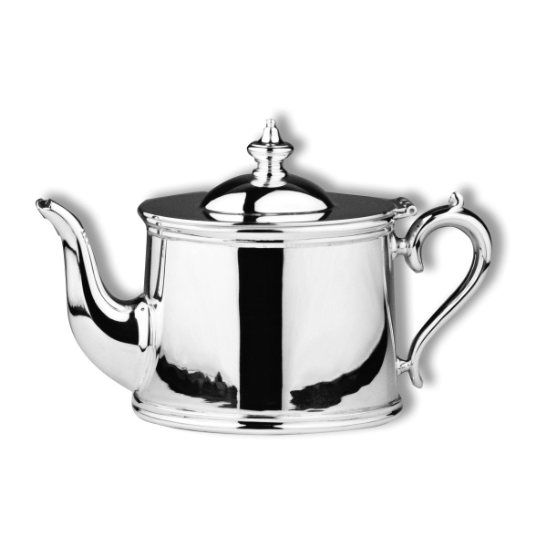 Oval teapot long spout